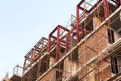 A construção está sob a construção Imagem de Stock