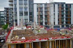 Construção estrutural da cidade Imagem de Stock Royalty Free