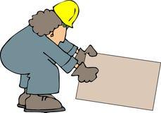 Construção fêmea Fotografia de Stock