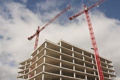 Construção, guindaste Imagens de Stock