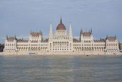 Construção húngara do parlamento Foto de Stock