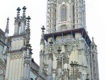 Construção histórica arquitetónica bonita no centro da cidade Imagens de Stock Royalty Free