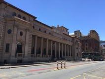 Construção histórica da legislatura em Joanesburgo fotografia de stock royalty free