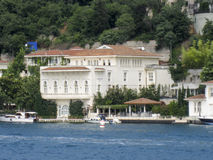 Construção histórica de Bosphorus Istambul Fotos de Stock Royalty Free