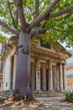 Construção histórica de Havana Fotografia de Stock