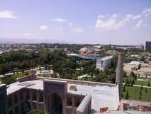 Construção histórica de Samarkand foto de stock
