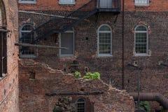 Construção histórica de Tredegar, museu americano da guerra civil em Richmon foto de stock