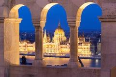 Construção histórica do parlament fotografia de stock