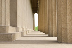 Construção histórica do Partenon na universidade de Vanderbilt fotografia de stock
