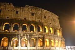 Construção histórica do turismo de Roma do coliseu Foto de Stock Royalty Free
