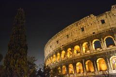 Construção histórica do turismo de Roma do coliseu Foto de Stock