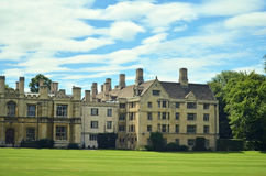 Construção histórica em Cambridge Fotos de Stock Royalty Free