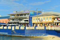 Construção histórica em George Town, Ilhas Caimão imagens de stock royalty free
