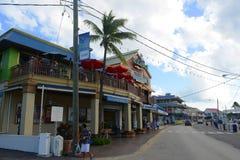 Construção histórica em George Town, Ilhas Caimão fotos de stock