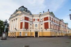 Construção histórica em Irkutsk Imagem de Stock Royalty Free