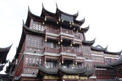 Construção histórica em Shanghai Fotografia de Stock Royalty Free