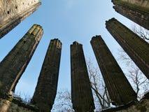 Construção histórica misteriosa com energia positiva Imagem de Stock