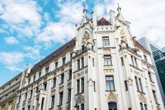 Construção histórica no centro de Brno, república checa Imagens de Stock Royalty Free