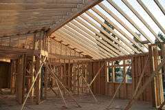 Construção Home fotografia de stock royalty free