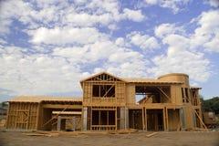 Construção Home luxuosa Fotos de Stock