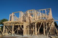 Construção home nova Fotos de Stock Royalty Free