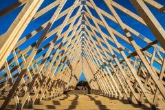Construção home nova Fotografia de Stock Royalty Free