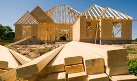 Construção Home nova Foto de Stock