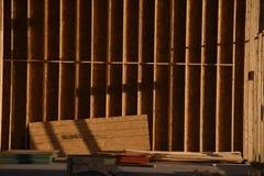 Construção home nova que quadro no sudoeste imagens de stock