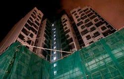 Construção Hong Kong Public Housing foto de stock royalty free