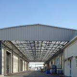 Construção industrial foto de stock