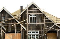 Construção inferior exterior da casa Fotos de Stock Royalty Free