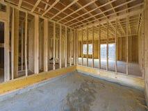 Construção interior da casa Imagem de Stock Royalty Free