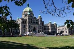 Construção legislativa, Victoria, BC Foto de Stock