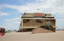 Construção marítima da estação em Odessa, Ucrânia, o 14 de junho de 2014 Fotos de Stock