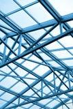 Construção metálica do teto Fotografia de Stock Royalty Free