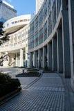 Construção metropolitana do governo do Tóquio de Japão foto de stock