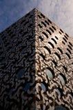 Construção moderna com o sol que reflete em um lado Greenwich, Londres Fotografia de Stock