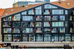 Construção moderna da arquitetura em Copenhaga Fotos de Stock Royalty Free