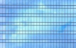 Construção moderna da elevação alta como o teste padrão Imagens de Stock Royalty Free