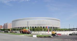 Construção moderna do ` de Krasnodar do ` do estádio imagem de stock