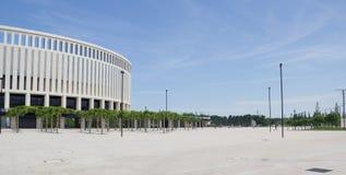 Construção moderna do ` de Krasnodar do ` do estádio imagens de stock