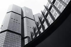 Construção moderna em Banguecoque Fotos de Stock Royalty Free