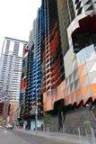 Construção moderna em Melbourne Austrália Fotos de Stock