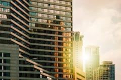 Construção moderna em Tel Aviv, Israel fotos de stock royalty free