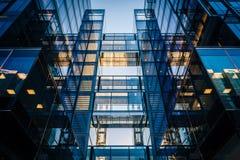 Construção moderna em Washington do centro, C.C. imagens de stock royalty free