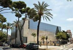 Construção moderna na cidade antiga de Cadiz Imagens de Stock Royalty Free
