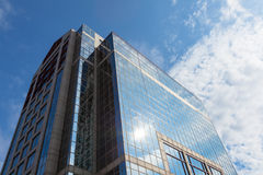 Construção moderna no distrito financeiro de Boston - EUA Fotografia de Stock Royalty Free