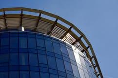 Construção moderna no vidro Imagens de Stock