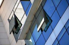 Construção moderna no vidro Imagem de Stock