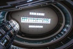 Construção moderna que cealing Imagem de Stock Royalty Free